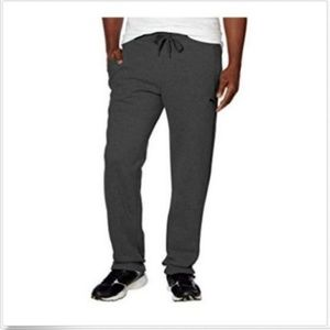 Puma Pants - Puma Men's Plush Fleece Sweatpants Drawstring Pant